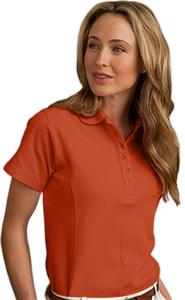 Hartwell 3015 Columbia Ladies' SS Cotton Polo