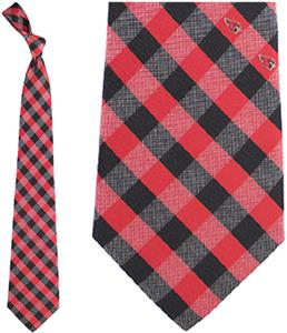 Eagles Wings NFL Arizona Woven Poly Check Tie