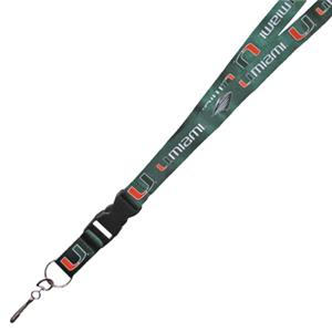 Pro Specialties University of Miami Lanyards