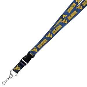 Pro Specialties Univ. of West Virginia Lanyards