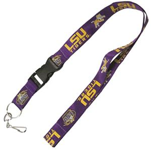 Pro Specialties Louisiana State Univ. Lanyards