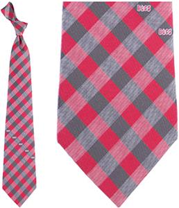 Eagles Wings NFL Buccaneers Woven Poly Check Tie