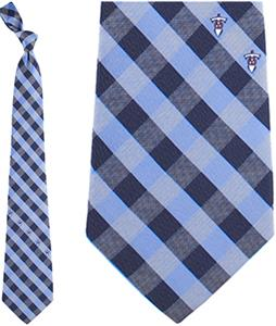 Eagles Wings NFL Titans Woven Poly Check Tie