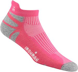 Wigwam Pink Ironman Thunder Pro Low Adult Socks