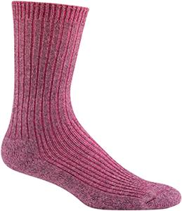 Wigwam Pink Countryside Crew Casual Adult Socks