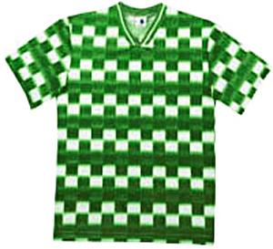 Pre-#ed SPARTA Soccer Jerseys KELLY w/BLACK #'s