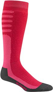 Wigwam Pink Snow Xenon Pro Knee Length Adult Socks