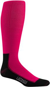 Wigwam Pink Snow Whisper Pro Knee Adult Socks