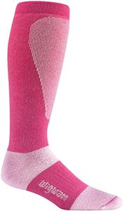 Wigwam Pink Snow Sirocco Knee Length Adult Socks