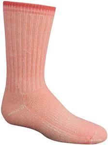 Wigwam Pink Youth Merino Comfort Hiker Crew Socks