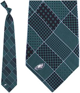 Eagles Wings NFL Philadelphia Eagles Patchwork Tie