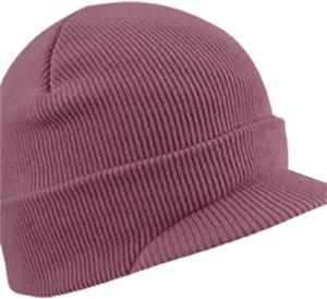Wigwam Pink Hunter Visor Winter Beanie Visor Hats