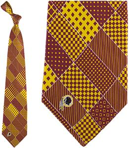 Eagles Wings NFL Washington Redskins Patchwork Tie