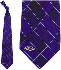 Eagles Wings NFL Baltimore Ravens Patchwork Tie