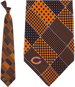 Eagles Wings NFL Chicago Bears Patchwork Tie