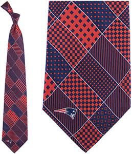 Eagles Wings NFL New England Patriot Patchwork Tie