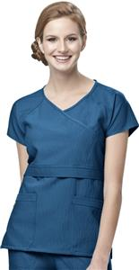 WonderWink Four-Stretch Raglan Sleeve Scrub Top