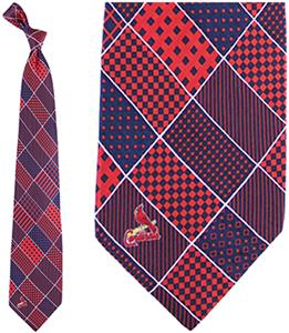 Eagles Wings MLB St. Louis Cardinals Patchwork Tie