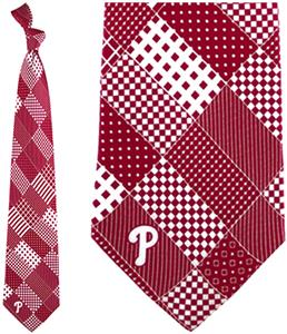 Eagles Wings MLB Phillies Patchwork Tie