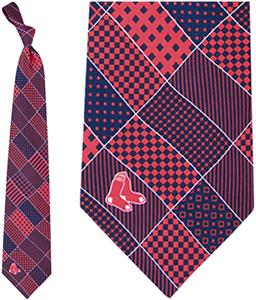 Eagles Wings MLB Boston Red Sox Patchwork Tie