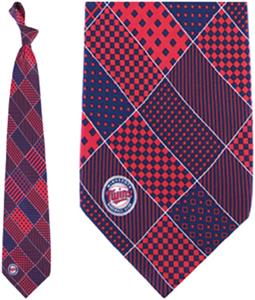 Eagles Wings MLB Minnesota Twins Patchwork Tie