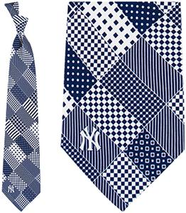 Eagles Wings MLB New York Yankees Patchwork Tie