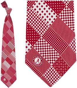 Eagles Wings NCAA Alabama Patchwork Tie