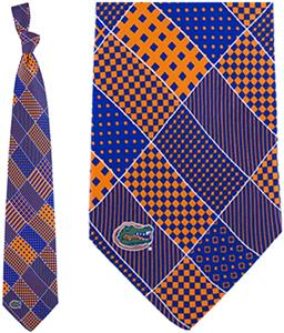 Eagles Wings NCAA Florida Gators Patchwork Tie