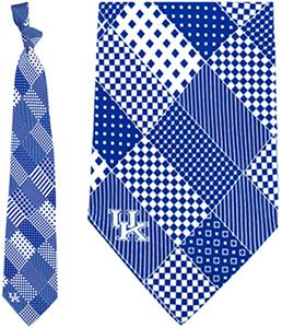 Eagles Wings NCAA Kentucky Wildcats Patchwork Tie