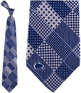 Eagles Wings NCAA Penn State Patchwork Tie