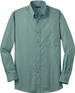 Red House Adult Mini-Check Button-Down Shirts
