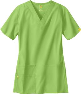 WonderWink The Bravo Lady Fit V-Neck Scrub Top
