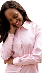 Red House Pink Ladies Button-Down Line Shirts
