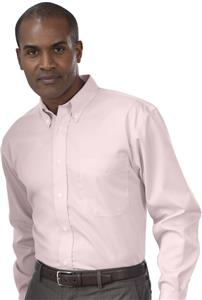 Red House Pink Adult Dobby Button-Down Shirts