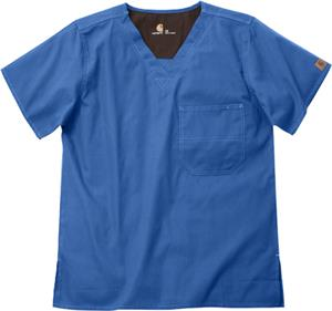 Carhartt Unisex V-Neck One-Pocket Scrub Top