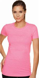Next Level Pink Women's The Perfect Tee Shirts
