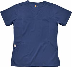 Carhartt Women's Three-Pocket V-Neck Scrub Top