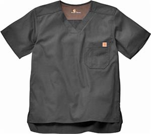 Carhartt Men's Solid Ripstop Scrub Utility Top