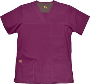Carhartt Men's Ripstop Multi-Pocket Scrub Top