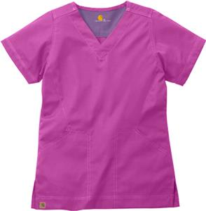 Carhartt Women's V-Neck Scrub Top