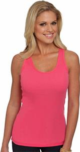 Next Level Pink Women's The 2x1 Tank Tops
