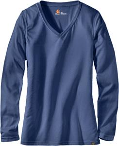 Carhartt Women's Work-Dry Long-Sleeve Sub-Scrub