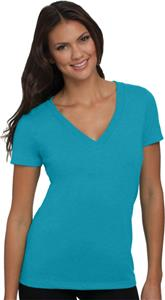 Next Level Women's CVC Deep V-Neck T-Shirts