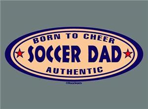 Closeout-Authentic Soccer Dad tshirt AS & AM