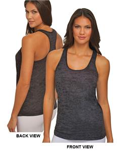 Next Level Women's Burnout Razor Tank Tops