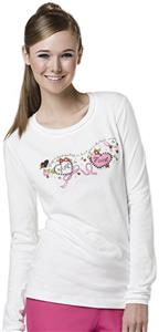 Mary Engelbreit Hope & Faith Long Sleeve Tee