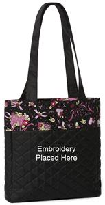 Mary Engelbreit Ribbon of Hope Quilted Tote Bag