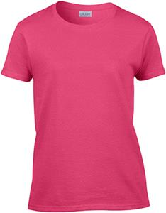 Gildan Pink Ultra Cotton Ladies T-Shirt