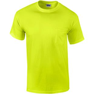 Gildan Adult Safety T-Shirts with Pocket