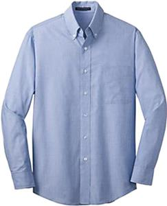Port Authority Adult Crosshatch Easy Care Shirts
